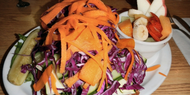 Claire's Cafe Veggie Sandwich